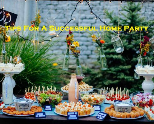 Tips For A Successful Home Party